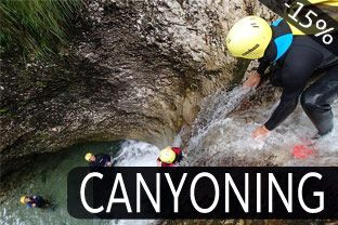 Canyoning, Bovec
