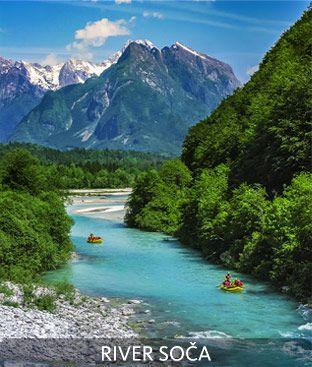 Soča River, Bovec, Slovenia