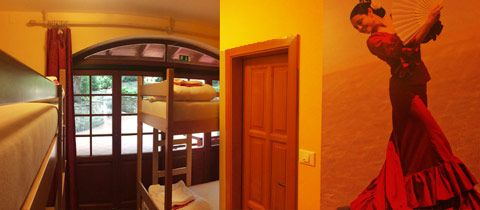 Hostel Portorož, soba Španija