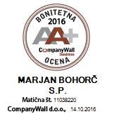 Bonitetna AA+ 2016