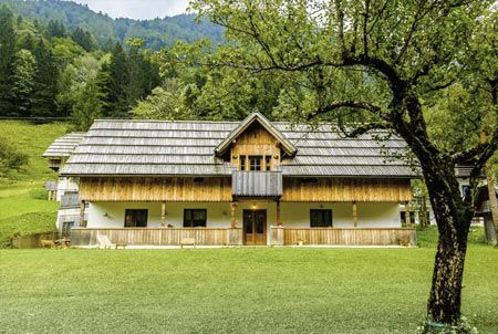 Logar valley, Farm stay Lenar, Slovenia