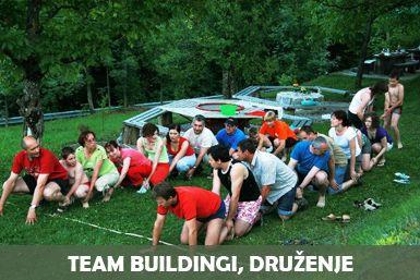 Team buildingi na Lukčevi domačiji