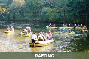 Rafting on Kolpa river